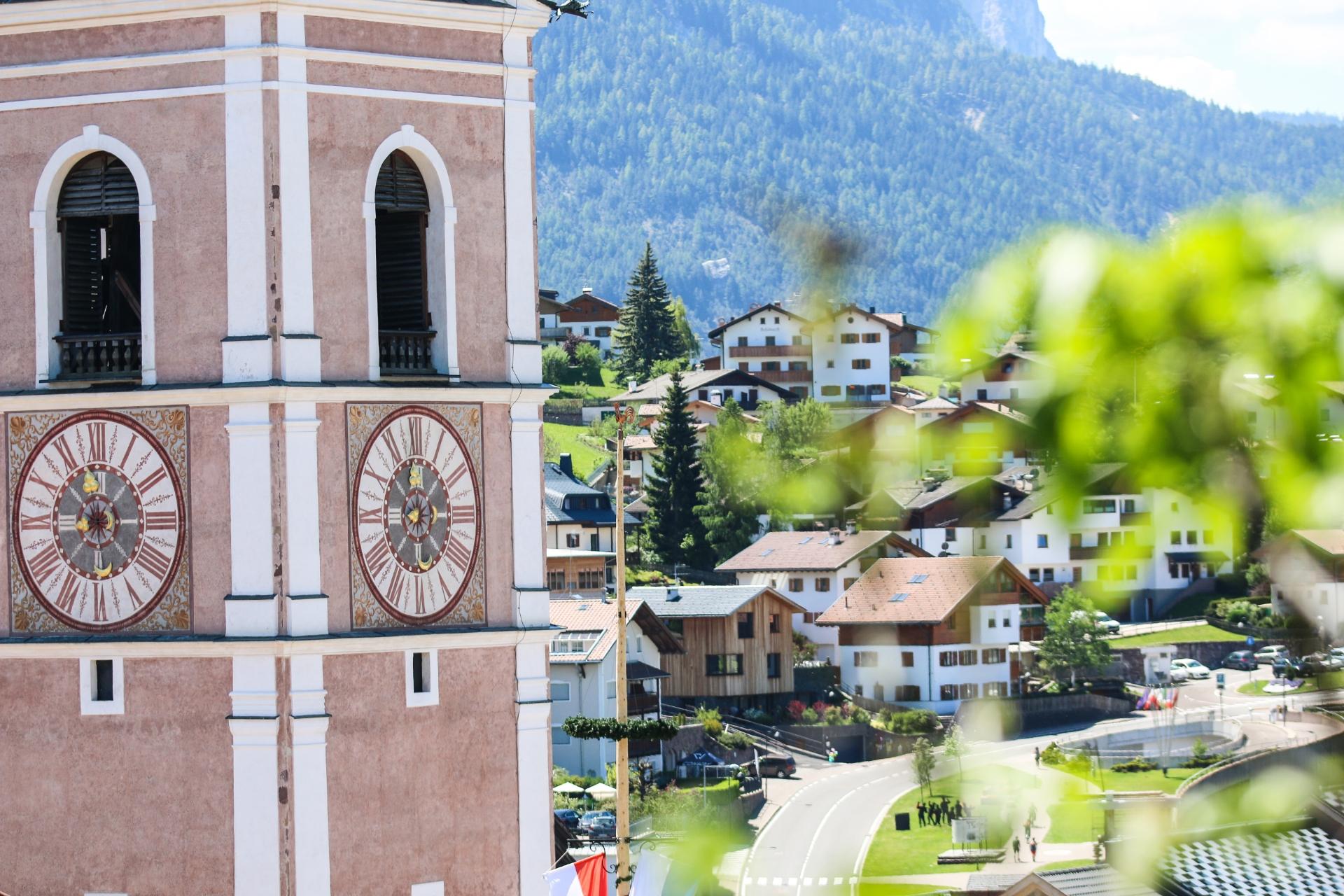 Kirchturm von Kastelruth