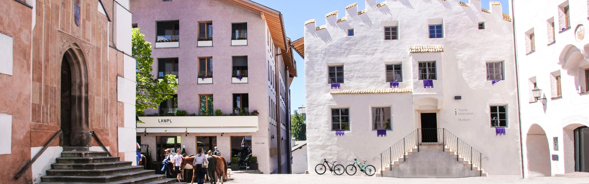 Dorfzentrum von Kastelruth